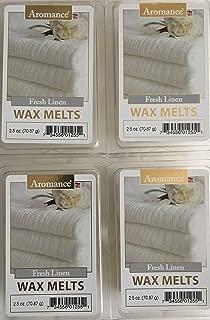 Aromance Fresh Linen Wax Melts, Pack of 4