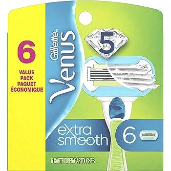 Gillette Venus Extra Smooth Women's Razor Blade - 6 Refills