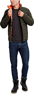Men's Poly Stretch Reversible Midweight Puffer Jacket