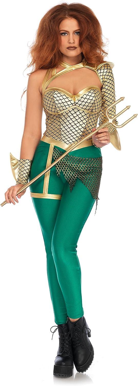 Leg Avenue 86686  Aqua Warrior Kostüm, Mehrfarbig, Small (EUR 36)