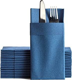 "One's & Unique - Air Laid Kangaroo Dinner Napkins, Linen-like 50 Pcs. 16""x16"" 1/8 Folded, European Quality, Soft & Durabl..."