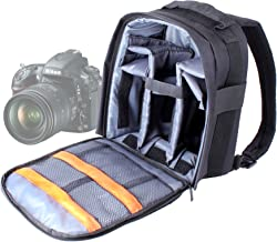 DURAGADGET inch Padded Camera Rucksack Backpack Case With Adjustable Dividers for NEW Nikon Coolpix L830