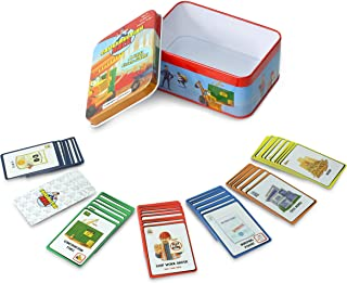 Winning Fingers Epic Card Game for Kids and Adults Ages 6+, Construction Race Family Game!