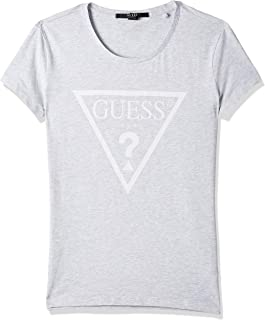 GUESS Women's Crew Neck Short Sleeve Tops
