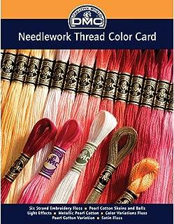 dmc satin thread colour chart