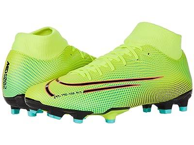 Nike Superfly 7 Academy MDS FG/MG (Lemon Venom/Black/Aurora Green) Shoes