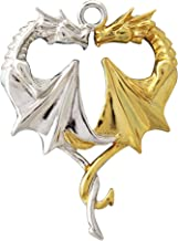 Enchanted Jewelry Dragon Heart Mythical Companion Pendant for Lasting Love by Anne Stokes