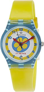 Maxima Analog White Dial Children's Watch - 04418PPKW