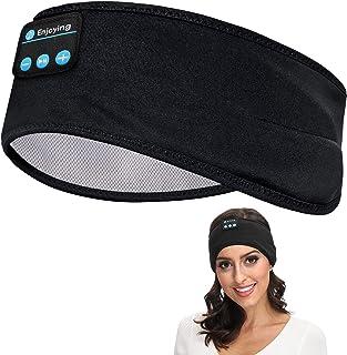 Sleep Headphones Bluetooth Voerou Wireless Headband Headphones Sports Sweatband with Ultra-Thin HD Stereo Speakers for Sle...