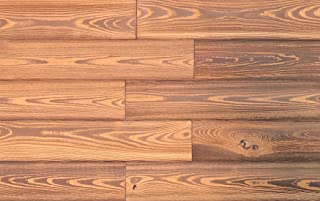 Smart Paneling 11239 Grain Accent Wall Wood Planks, 1/4 x 5 x 24 in, Gold, 14 Piece