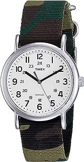 T2P365 Timex Weekender Full-Size Slip Thru Watch - Green C