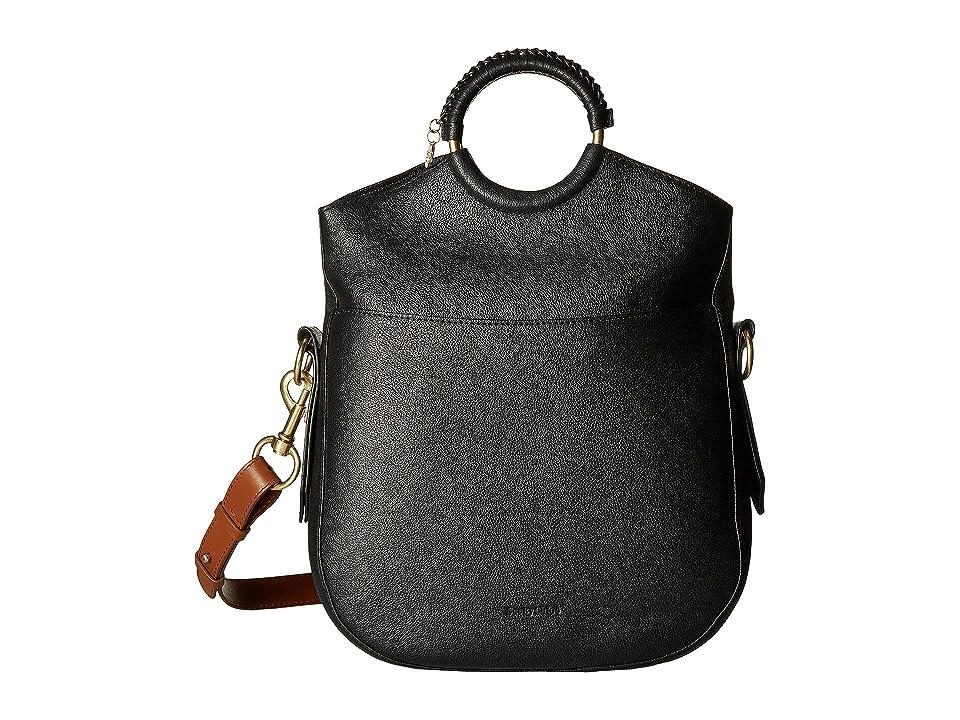 See by Chloe Monroe Large Bracelet Tote (Black) Tote Handbags