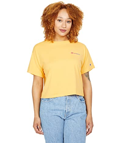 Champion Cropped Graphic Tee