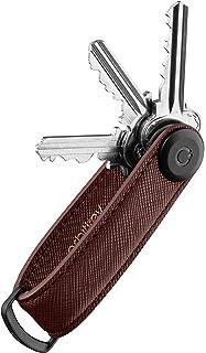Orbitkey Saffiano Leather Key Organiser | Holds up to 7 keys
