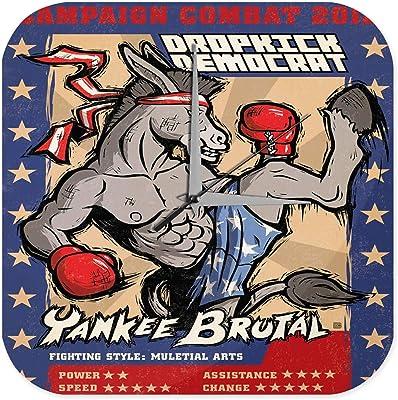 壁時計 wall clock Fantasy Gothic Trading card 2012 Campaign Combat Yankee Brutal horse Kickboxing Decorative Plexiglass