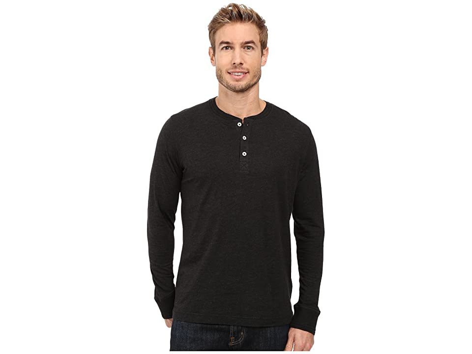 Robert Graham Danieli Henley (Heather Dark Charcoal) Men