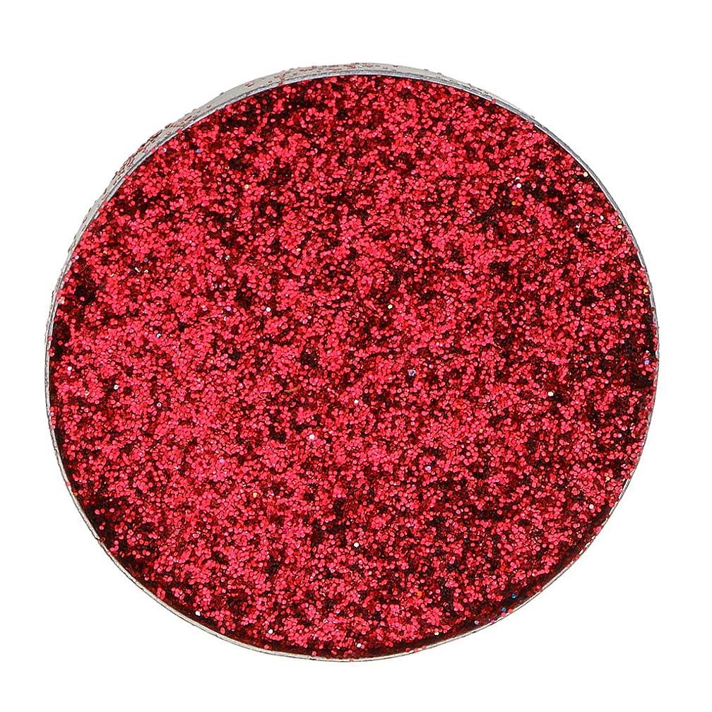 キャップ標高くまSONONIA ダイヤモンド キラキラ 輝き メークアップ 若々しい アイシャドー 顔料 長持ち 全5色 - 赤