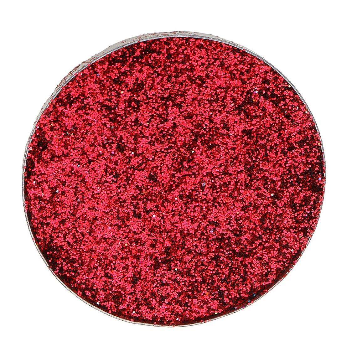 運搬酸っぱいめ言葉Kesoto ダイヤモンド キラキラ シマー メイクアップ アイシャドウ 顔料 長持ち 滑らか 全5色 - 赤