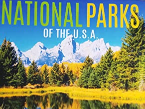 2019 16-Month National Parks of The U.S.A. Wall Calendar