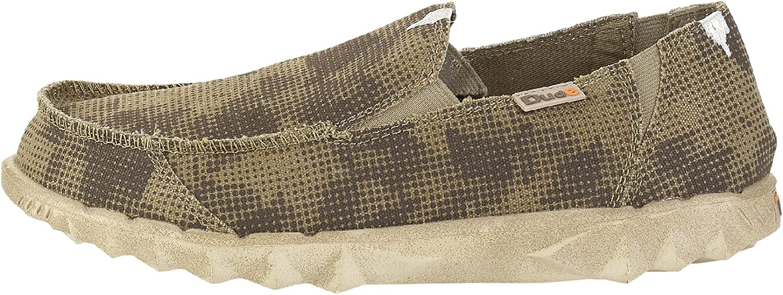 Dude shoes Men's Farty Print Desert Camo Slip On   Mule