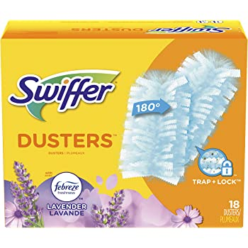 Swiffer 180 Dusters, Multi Surface Refills with Febreze Lavender, 18 Count