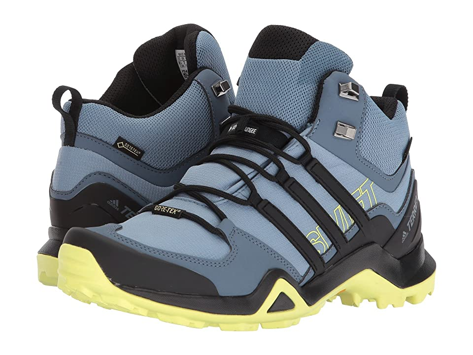 adidas Outdoor Terrex Swift R2 Mid GTX(r) (Raw Grey/Black/Semi Frozen Yellow) Women