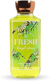 Bath and Body Works Fresh Brazil Citrus Shea and Vitamin E Shower Gel 10 Ounce 2017 Version