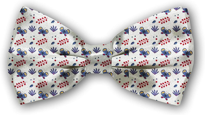 Overseas parallel import regular item Bow Tie Tuxedo Butterfly San Antonio Mall Cotton Boys Adjustable for Bowtie Mens