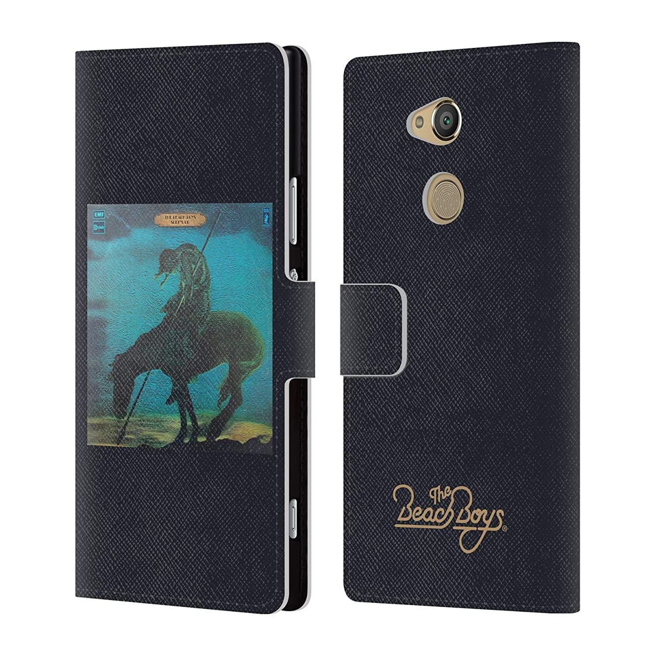 Official The Beach Boys Surfs Up Album Cover Art Leather Book Wallet Case Cover for Sony Xperia XA2 Ultra
