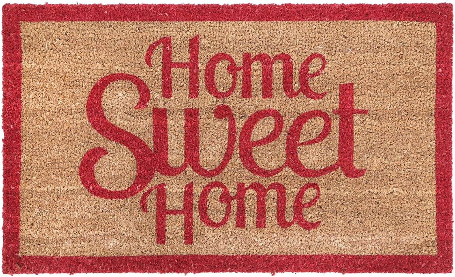 Premier Housewares Home Sweet Home Doormat PVC Backed Coir