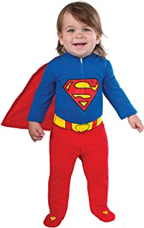 Rubie's baby boys Dc Comics Superhero Style Superman Costume Party Supplies, Multi, 6-12 Months US