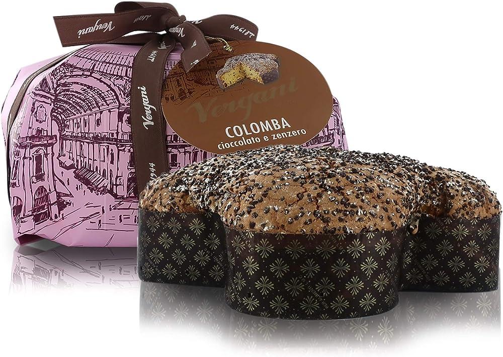Vergani, colomba al cioccolato e zenzero,750 gr VECOCZ000750GA00IT