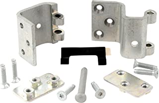 Genuine GM Parts 19257343 Intermediate Side Door Upper Door Hinge Kit with Hinges, Backing Plates, Pin, Stop, and Bolts