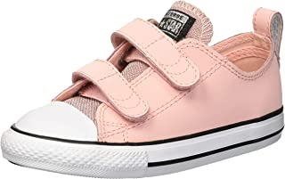 Converse Kids' Chuck Taylor All Star Glitter Leather 2v Low Top Sneaker