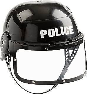 Aeromax Jr. Police Helmet with Movable Visor and Adjustable Headband
