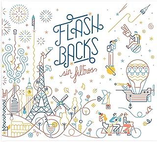 Recuerding - Álbum de Fotos Original Flashbacks 48 Páginas (275x24cm) | Personalizable | Moderno y Vintage | Escribir y Pegar | Certificado FSC | Tapa Dura