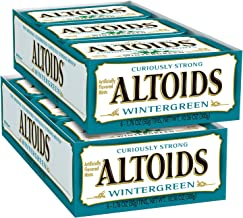 ALTOIDS Classic Wintergreen Breath Mints, 1.76-Ounce Tin (Pack of 12)