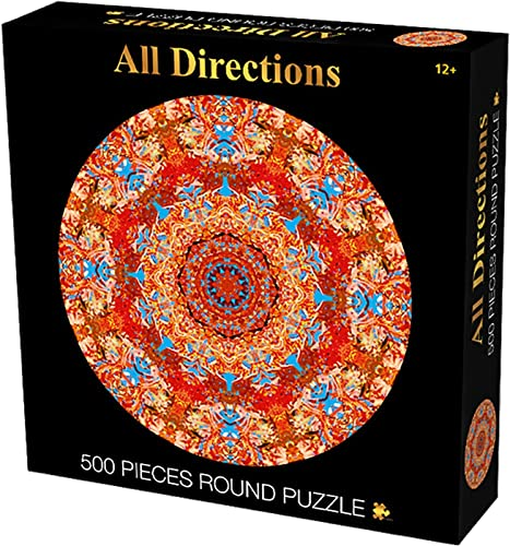 discount Jigsaw Puzzles 500 Pieces for Adults - Imagination Cosmic Galaxy - Landscape discount Wooden Puzzles for Kids and Adults,Stress Relief Toy Game, 17In Round Color Challenging Puzzles for Kids and Adult sale (Orange) sale