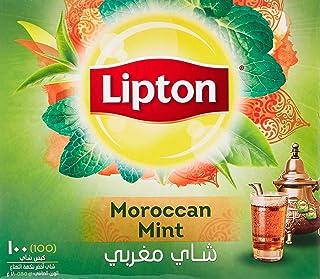 Lipton Green Tea Moroccan Mint, 100 Teabags