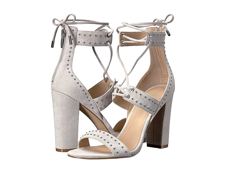 KENDALL + KYLIE Dawn (Light Gray Suede) High Heels