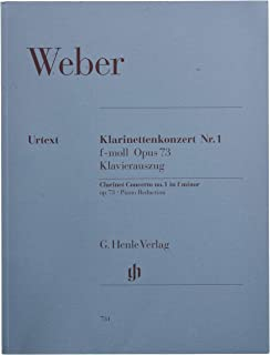 Clarinet Concerto And Orchestra No 1 F Minor Op 73
