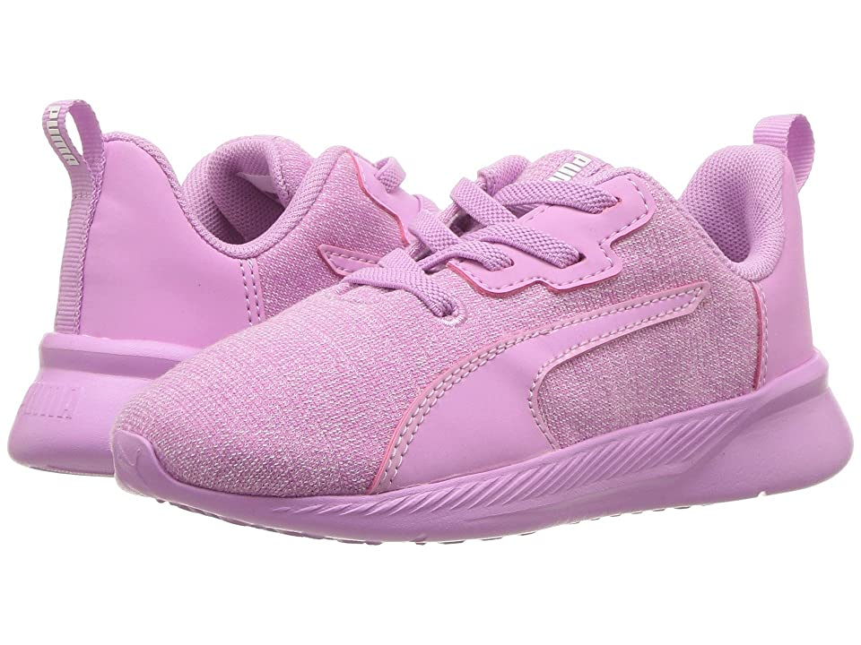Puma Kids Tishatsu Runner Knit AC (Toddler) (Orchid/Puma White) Girl