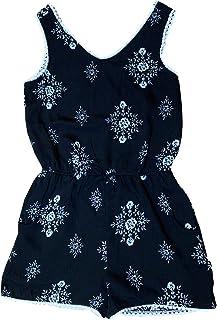 Paper Doll Girls Lace Overlay Summer Sleeveless Dress