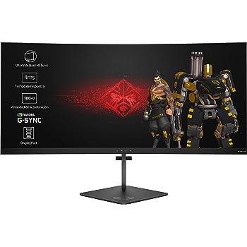 Asus ROG Swift PG349Q - Monitor para juegos (34 pulgadas, curvo, 120 Hz, 3440 x 1440 IPS con Eye Care Aura Sync DP HDMI, color negro: Amazon.es: Electrónica