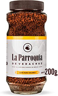 Café de La Parroquia de Veracruz Café Puro Soluble, 200 g