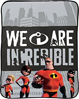 Best incredibles fleece blanket Reviews