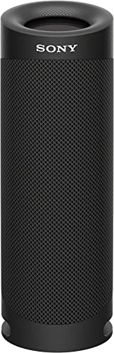 Sony SRS-XB23 EXTRA BASS Wireless Portable Speaker IP67 Waterproof BLUETOOTH and Built In Mic for Phone Calls, Black ...