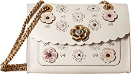 COACH - Parker with Cut Out Tea Rose