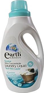 Earth choice sensitive laundry liquid 1L