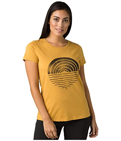 Prana Climbing Tee (Toffee Reflections) Women